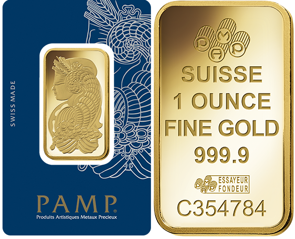 Details About Five 5 1 Oz Pamp Suisse Gold Bars New In Ay Cards Free Shipping