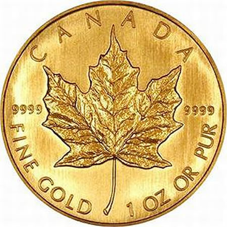Canada Gold Maple Leaf (1 oz.)