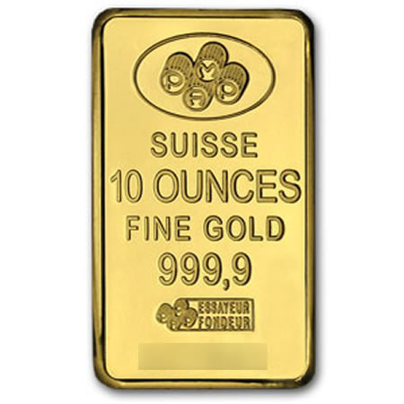 Gold PAMP 10 ounce