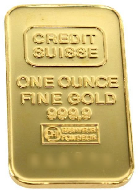 Gold Bar .999+ Fine (1 oz.) - Pamp Suisse