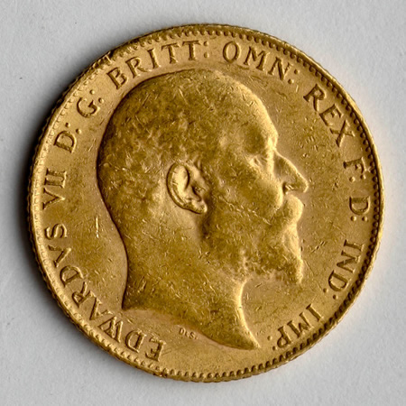 British Gold Sovereigns x 10 (2.354 oz.)