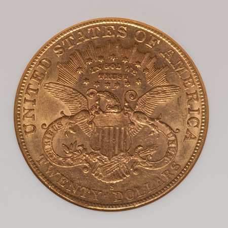 US $20 Liberty Double Eagles pre-1933 (XF-AU)