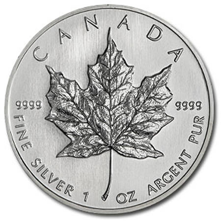 Canada Silver Maple Leafs BU (500 oz.)