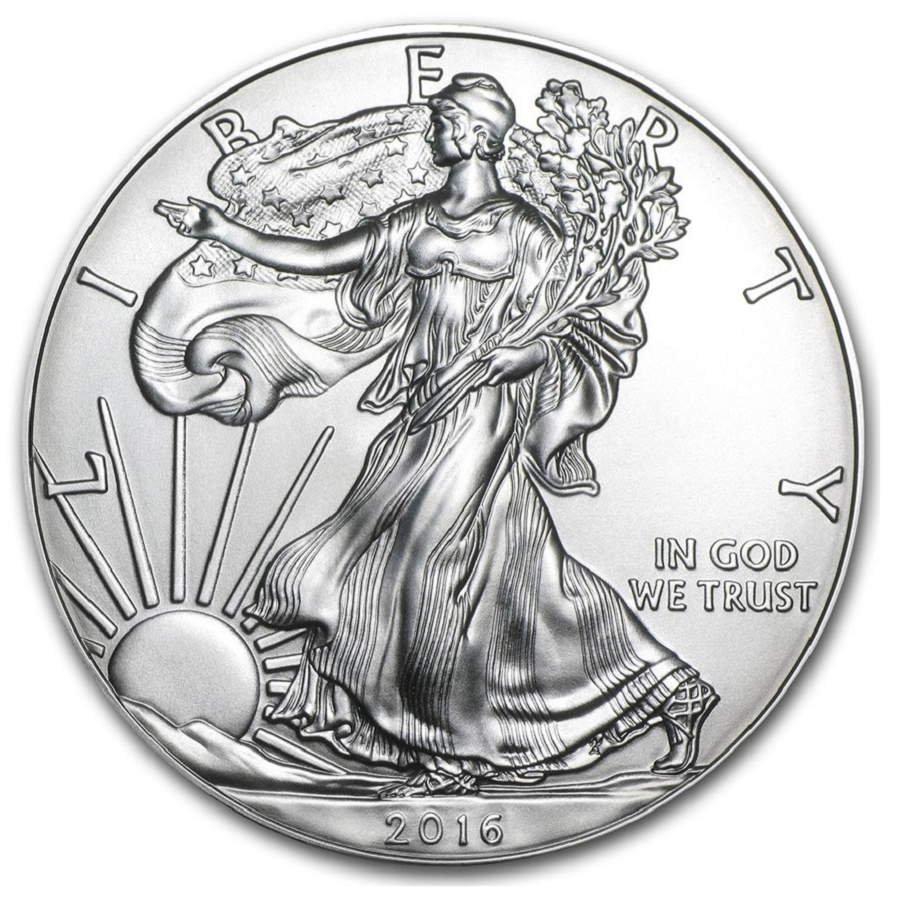 2016 Silver Eagles 100 count