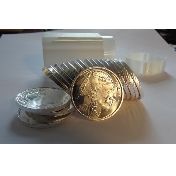 1 ounce Silver Round 100 count