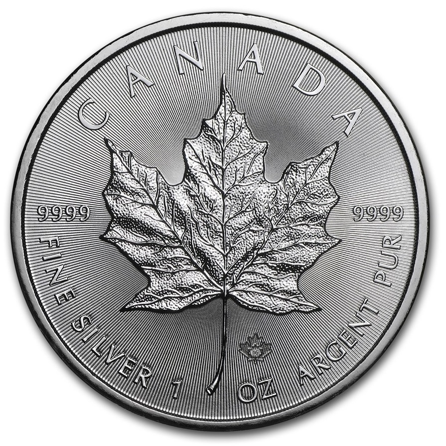 Canada Silver Maple Leaf Monster Box