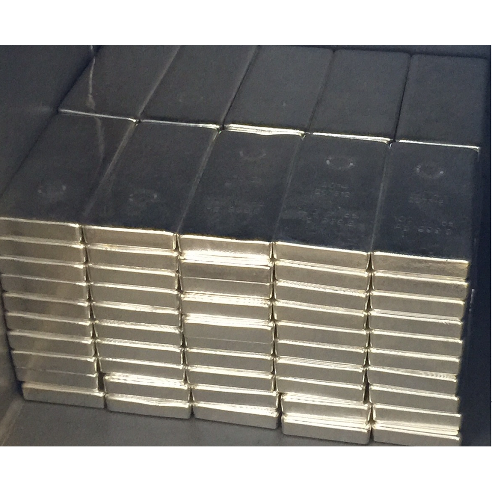 100 Oz Rcm Silver Bars 9999 Fine 171 Vault Wholesale