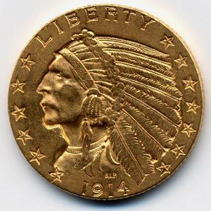 1206003_$5_Indian_AU_Five_(5)_pieces_obv