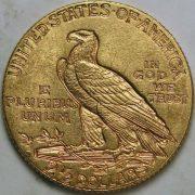 1207003_$2.5_Indian_AU_Five_(5)_pieces_rev