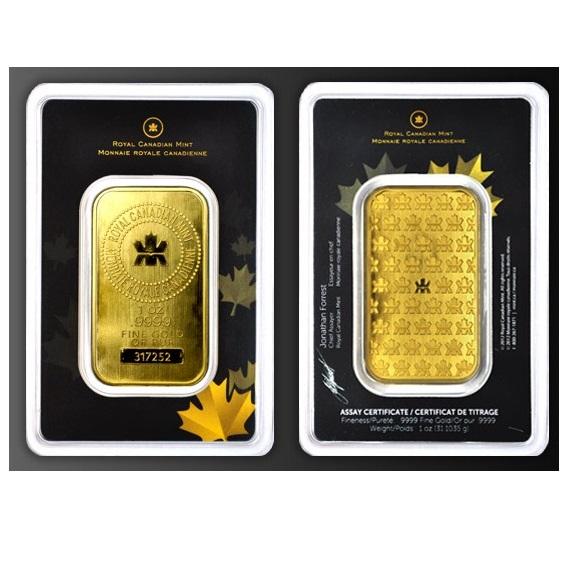 1401001_RCM_One_oz_ .9999_gold_bar