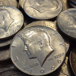 2207002_US_40%_1965-1970_Kennedy_Half_Dollars_$500 face