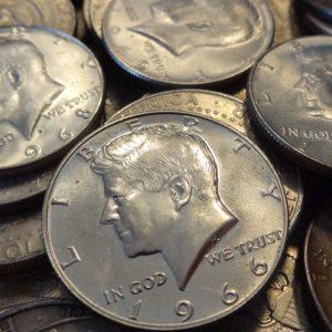 2207002_US_40%_1965-1970_Kennedy_Half_Dollars_$500 face
