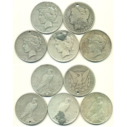 2301005_Damaged_Dollars_100_pieces