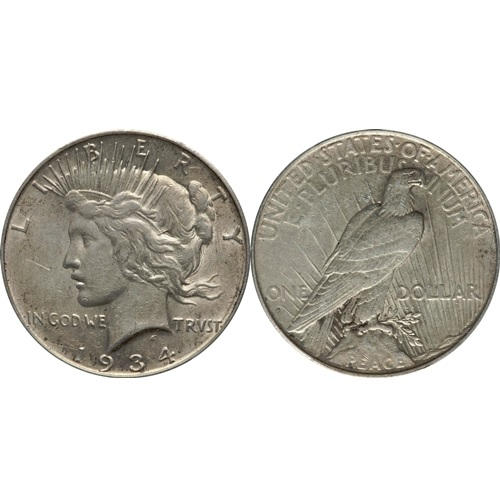 2302101_Peace_Dollars_VG_100_pieces