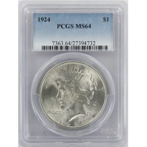 2303403_Peace_Dollars_PCGS_MS64_10_pcs_obv