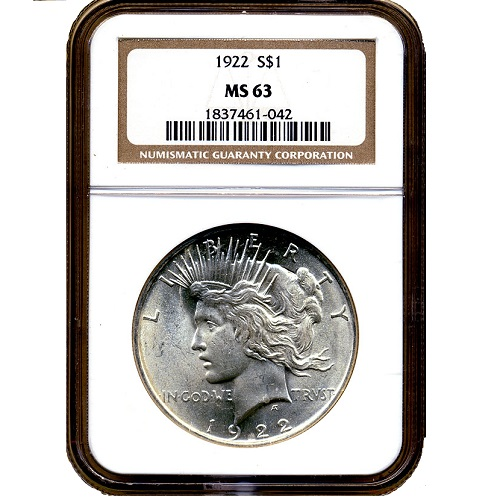 2303502_Peace_Dollars_NGC_MS63_20_pcs