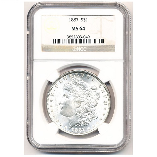 2307203_Morgan_Dollars_pre-21_NGC_MS64_10_pieces_obv